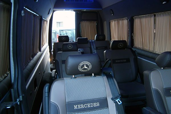 Пассажирский салон для mercedes sprinter