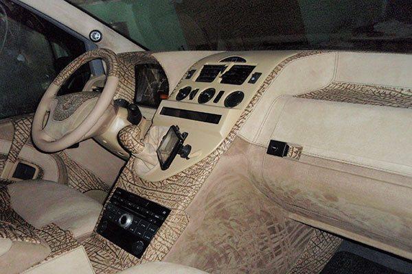 тюнинг микроавтобуса Mercedes Vito