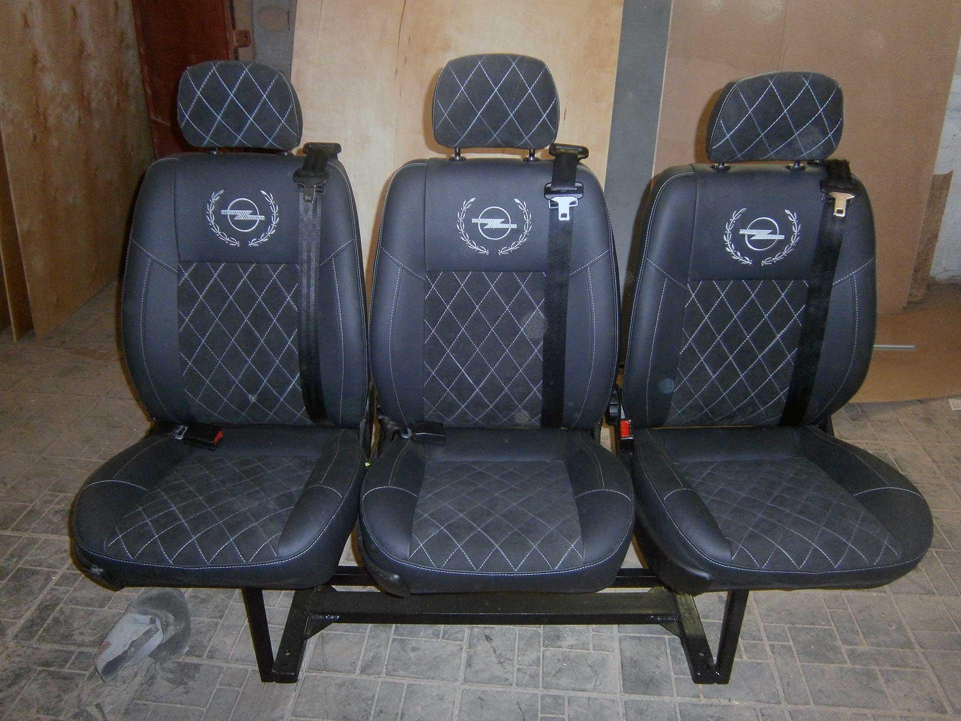 установка сиденьй в микроавтобус